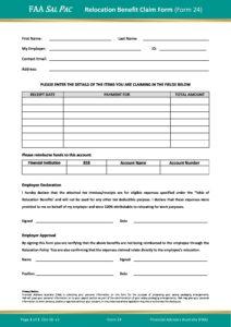 Form 24 – Relocation Benefit Claim Form v1